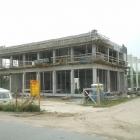 Budowa hali w Łomiankach