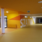 Budowa szkoły w Warszawie przy ul. Dzieci Warszawy. Zakres prac: tynki oraz malowanie.